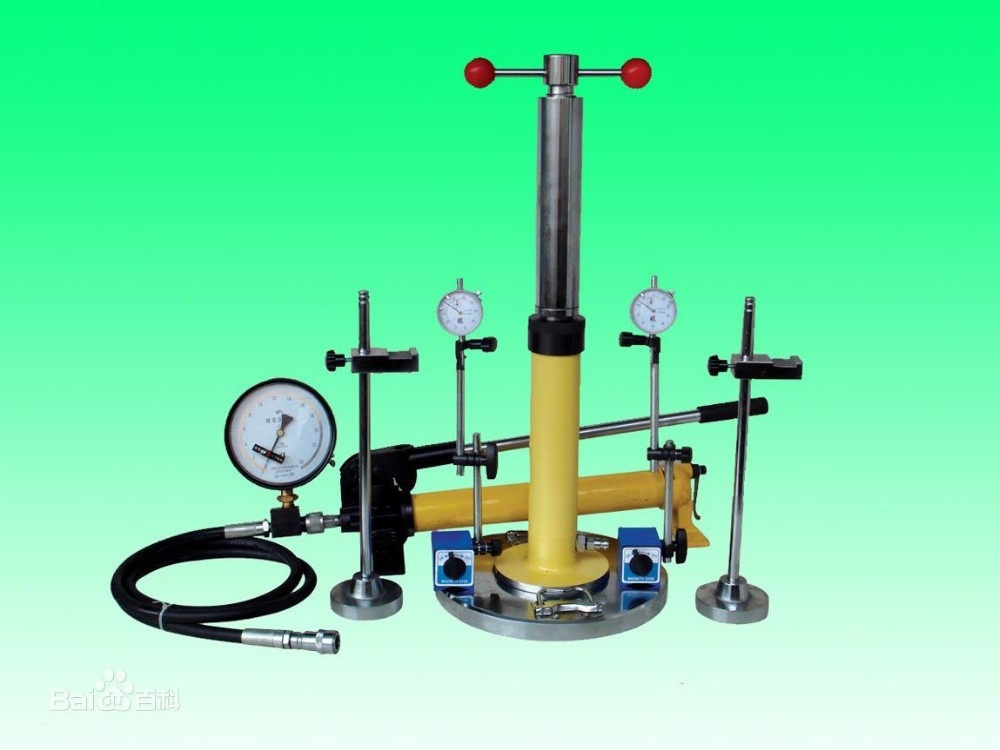 E37 Plate load tester,plate bearing test apparatus/plate bearing test