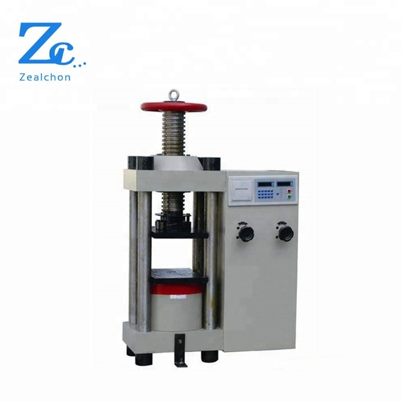YES-3000D Digital Concrete Compressive Strength Test Machine