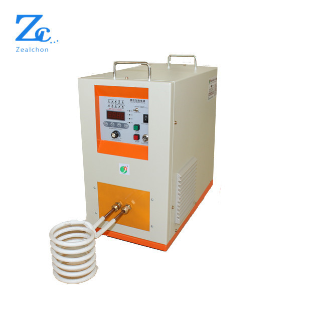 Portable small 8t portable gold induction furnace with 24hours continuous smelting