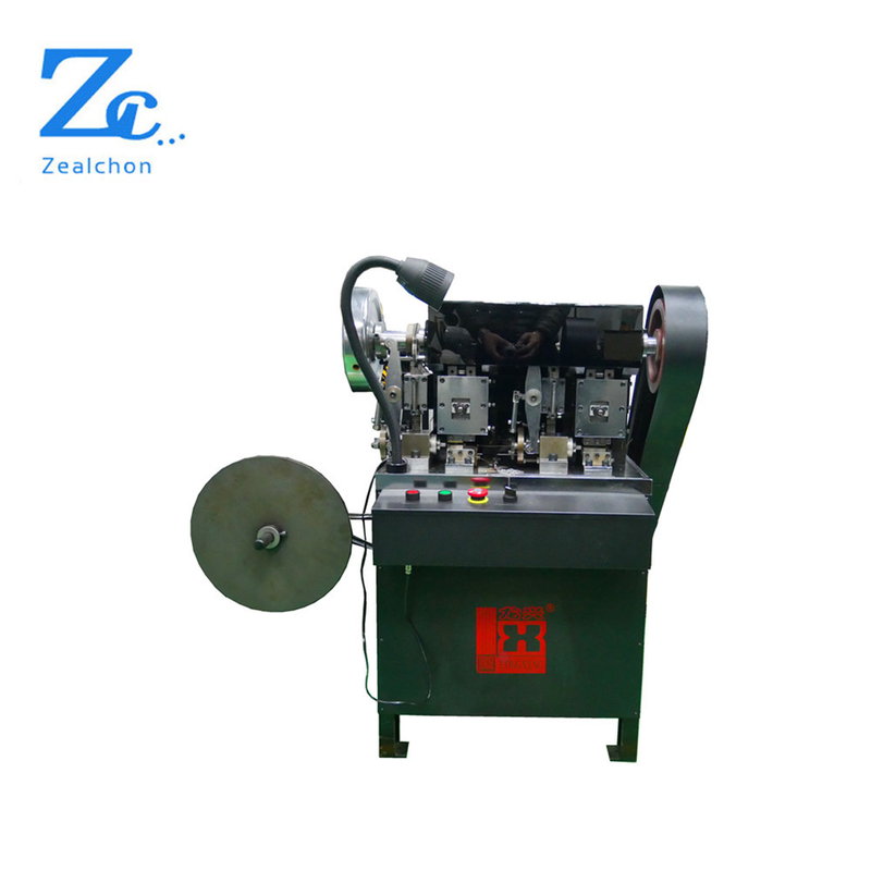 LX338 Automatic jewelry double head chip punching bead chain machine