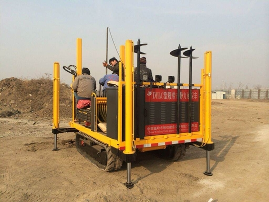 Crawler type CPT truck static cone penetrometer for soil