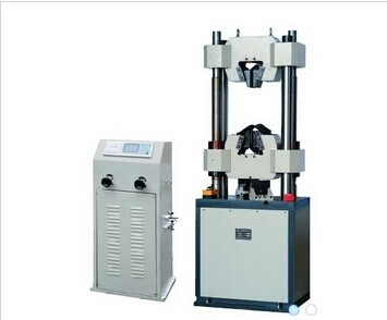 China WE-500B 500KN universal testing machine (LCD digital display) distributor