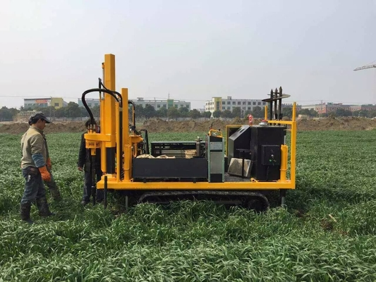 China DYLC Geotechnical site investigation rigs for static cone penetrometer with 200 kN pushing capacity distributor