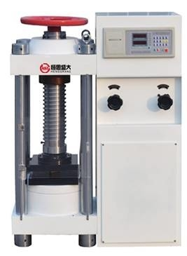 China YES-2000 Digital compression testing machine for brick, stone, cement, concrete compressive strength test factory