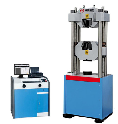 China WEW-D Computer screen display hydraulic universal tensile testing machine (six cylinder) (2000KN ) factory