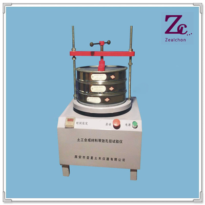 China D006 Geosynthetic Materials Equivalent Aperture Tester  for Geosynthetics testing machines distributor