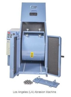 China C068A Los Angeles testing machine for aggregate resistance to abrasion with protection cover distributor