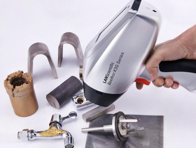 Hand Held Gold Tester : X g aluminium alloy analyzer