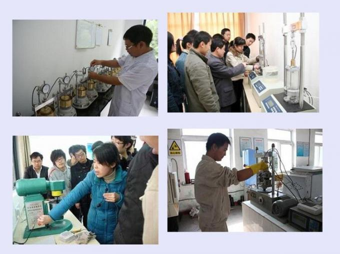 YES-D Series Digital Display Compression Testing Machine used for concrete and other material compression resist testing